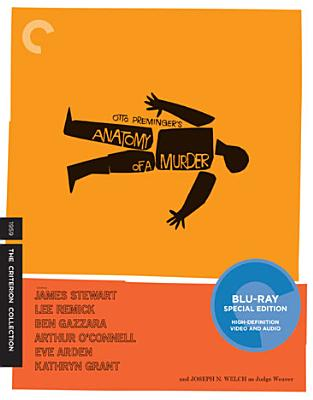 ANATOMY OF A MURDER BY STEWART,JAMES (Blu-Ray)
